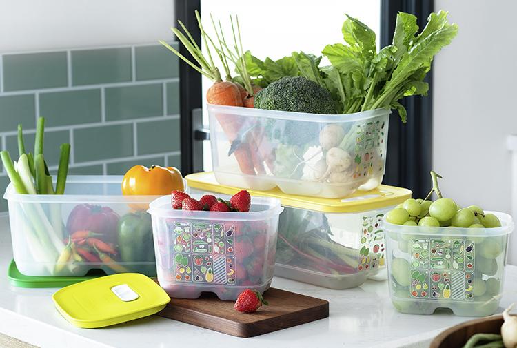 Rau quả chứa nhiều chất xơ, thường ít calo không lo tăng cân.