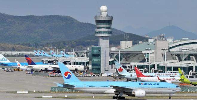 Bệnh nhân được phát hiện bệnh trong quá trình kiểm dịch tại sân bay quốc tế Incheon. Ảnh: AFP