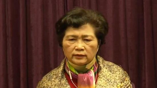 Bà Li Lanjuan, một nhà dịch tễ học của Ủy ban Y tế Quốc gia Trung Quốc. Ảnh: CGTN