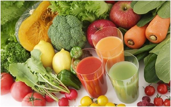Nên bổ sung rau, củ, quả vào bữa ăn.