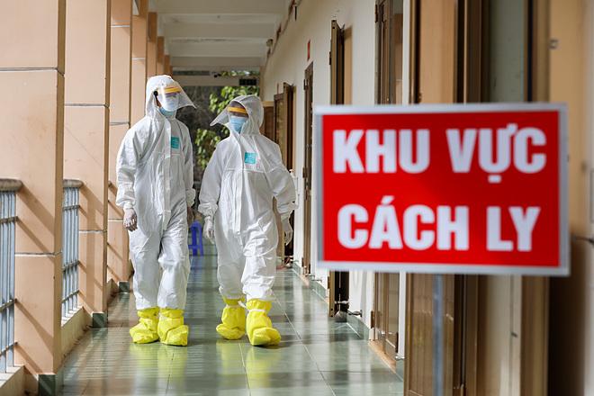 Khu vực cách ly bệnh nhân tại Bệnh viện dã chiến đầu tiên TP HCM. Ảnh: Quỳnh Trần.