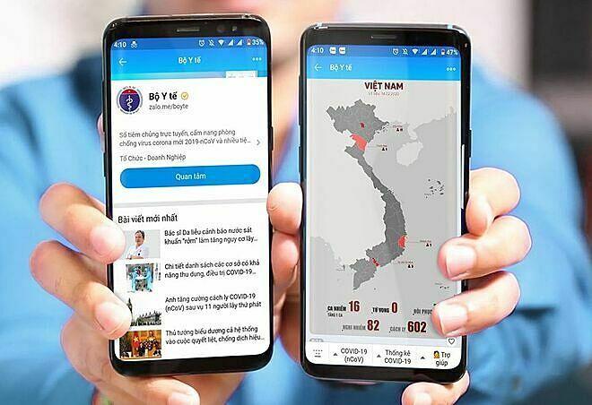 Tra cứu dịch nCoV qua Chatbot Bộ Y tế - Sức Khỏe