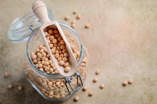 Các loại đậu chứa nhiều chất xơ.