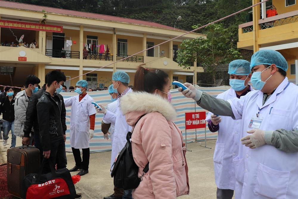 Khu cách ly ở Cao Bằng quá tải người về từ Trung Quốc - Sức Khỏe