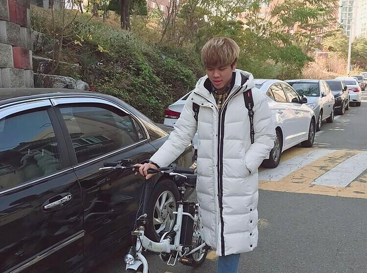 Khương Bá Hưng đang là sinh viên tại địa học Ulsan, Hàn Quốc, gần tâm dịch Daegu 80 km. Ảnh: Nhân vật cung cấp