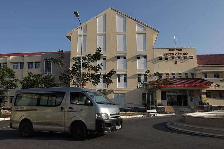 Bệnh viện Cần Giờ trở thành bệnh viện chuyên khoa điều trị Covid-19 quy mô từ 16/3. Ảnh: Hữu Khoa.