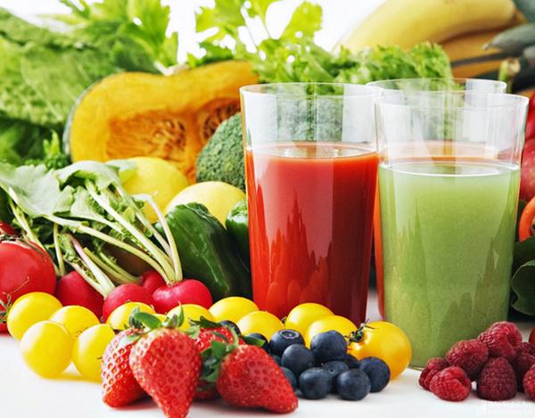 Chế độ ăn cân bằng các dưỡng chất, giàu trái cây tốt cho sức khỏe mỗi  người.
