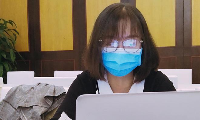 Đinh Thu Trang, 20 tuổi, sinh viên năm 2 trường Đại Học Y tế công cộng. Ảnh: Nhân vật cung cấp