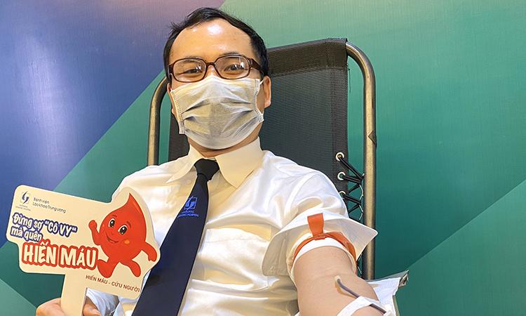 Hiến máu trong đại dịch - ảnh 1