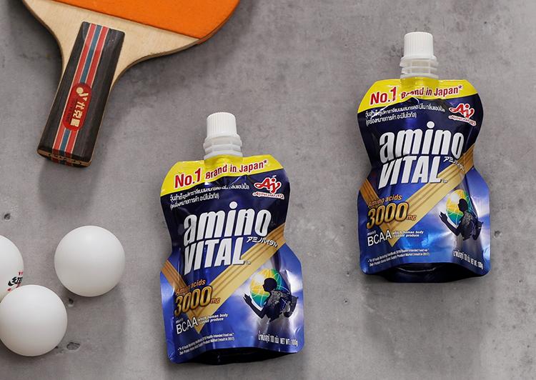Thức uống amino VITAL™ cung cấp 3.000mg axit amin, trong đó có 1.700mg BCAA,