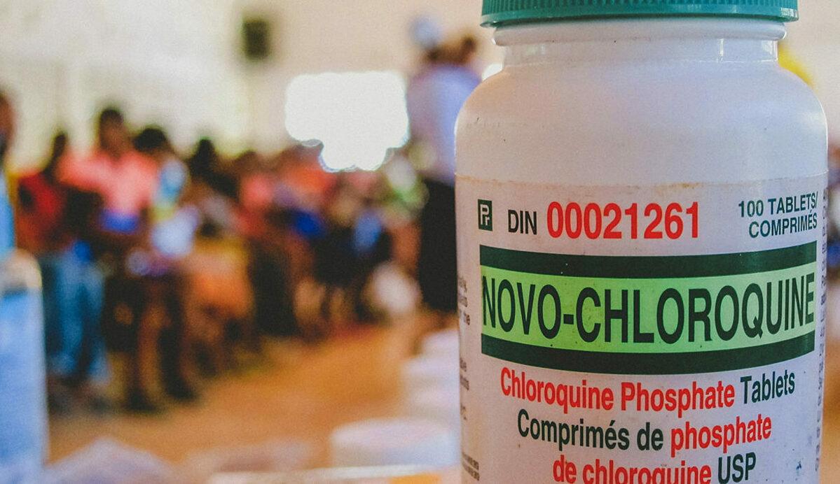 Thuốc trị sốt rét chloroquine phosphate. Ảnh: Shutterstock