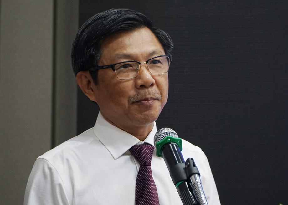 Bác sĩ Nguyễn Trí Dũng chia sẻ người nhiễm HIV mới ở TP HCM hiện nay chủ yếu là MSM. Ảnh: Thư Anh.